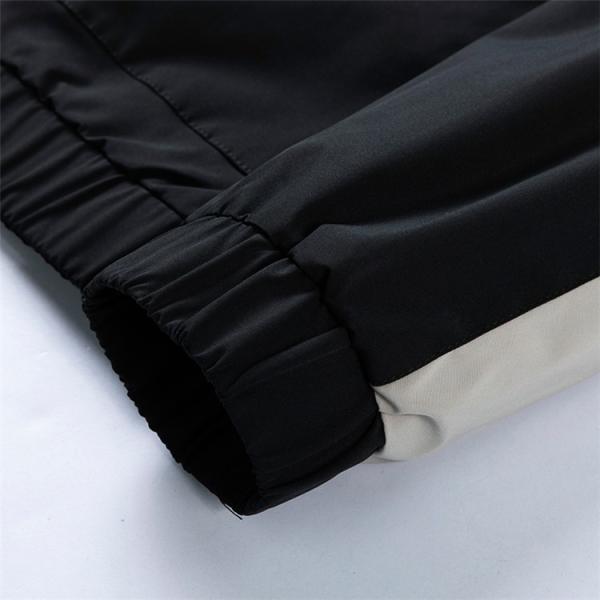 ウィンドブレーカー メンズ ジャケット 薄手 マウンテンパーカー ジャンパー ライトアウター 切替 お兄系 allforever 18