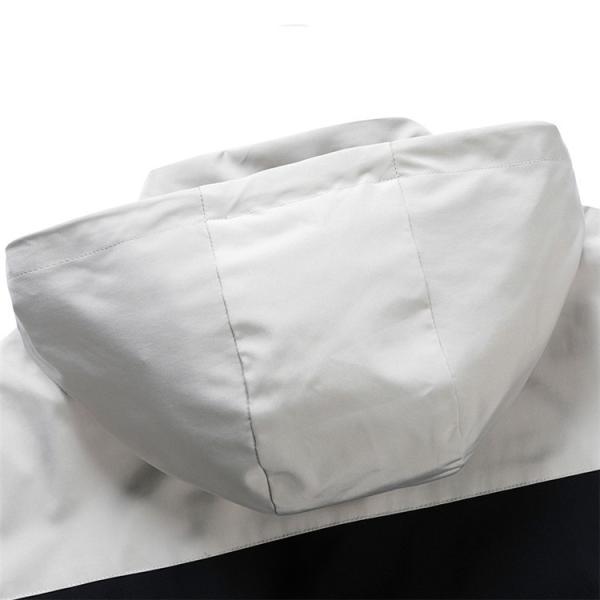 ウィンドブレーカー メンズ ジャケット 薄手 マウンテンパーカー ジャンパー ライトアウター 切替 お兄系 allforever 20