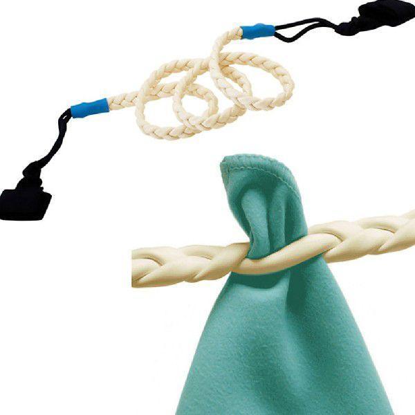 洗濯ロープ[NHK おはよう日本 まちかど情報室]で紹介 洗濯物干しロープ 紐 ひも ゴム 室内 室外 旅行用品 アウトドア[メール便送料無料]|alligatorpie|03