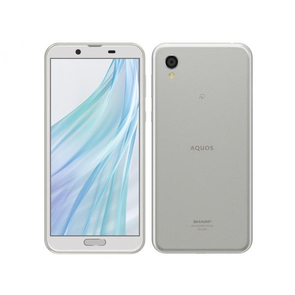 AQUOS sense2 SH-M08 ホワイトシルバー SIMフリー 日本国内正規品|alljapan-online-shop