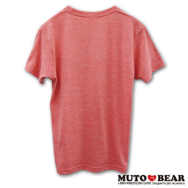 武藤ベアー グレート・ムタ Tシャツ ミックスレッド|alljapan|02