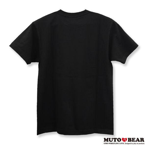 武藤ベアー グレート・ムタ Tシャツ ブラック|alljapan|02
