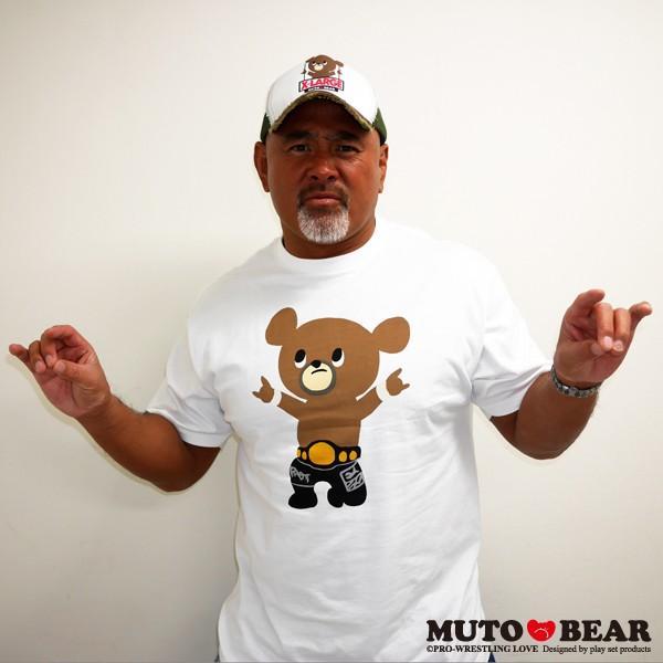 武藤ベアー Tシャツ ホワイト|alljapan|05