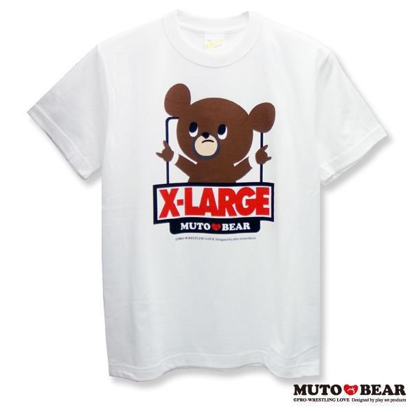XLARGE × 武藤ベアー コラボTシャツ ホワイト|alljapan
