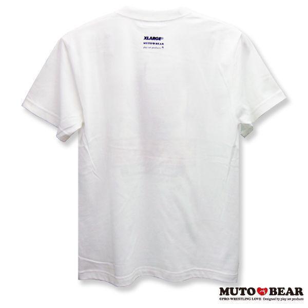 XLARGE × 武藤ベアー コラボTシャツ ホワイト|alljapan|02