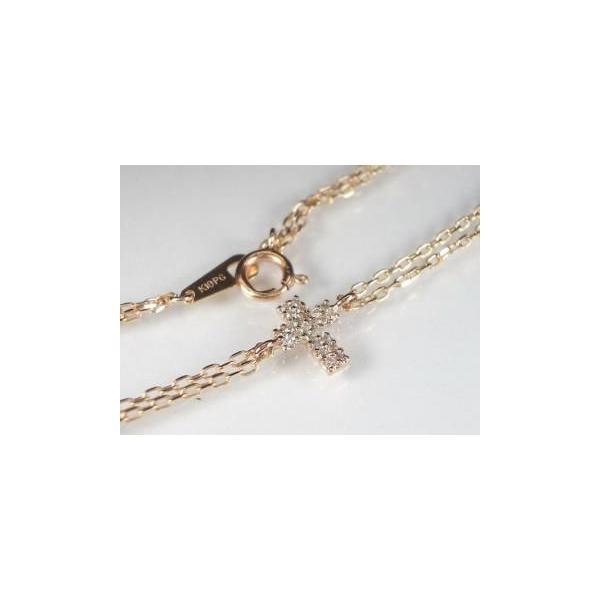 K10PG ピンクゴールド ダイヤモンド ブレスレット