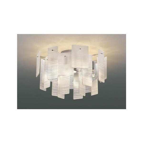 ☆KOIZUMI LEDシャンデリア 簡易取付式 白熱電球40W×8灯相当 (ランプ付) 電球色 2700K AA49273L