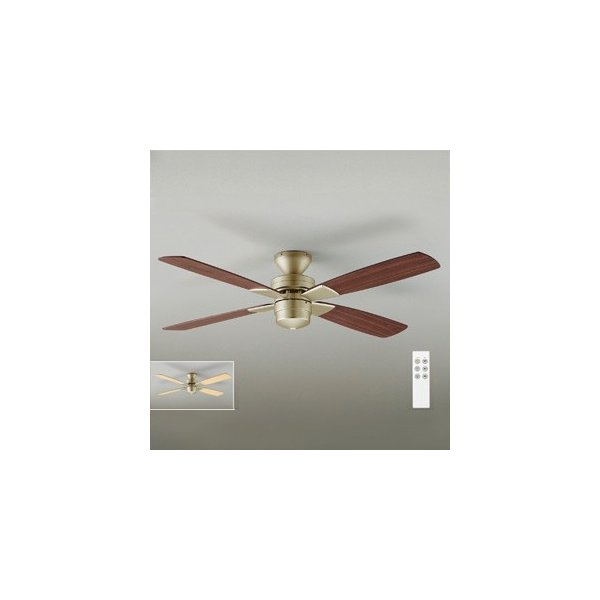DAIKO シーリングファン 簡易取付式 (リモコンスイッチ付) 本体シルバー 正転逆転切替 風量3段切替機能付 AS-563E