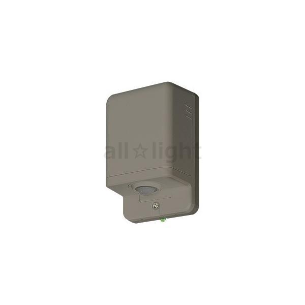 パナソニック 屋側用配線器具 熱線センサ付自動スイッチ 親器(防雨形) 屋外用 屋側壁取付 IPX3 8A 100V AC ブラウン WTK3481A