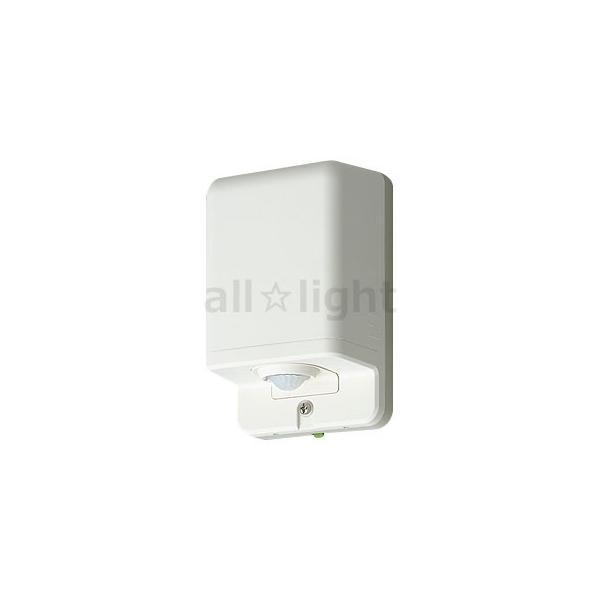 パナソニック 熱線センサ付自動スイッチ 子器(防雨形) 屋側壁取付 お出迎え点灯形(蛍白両用) 明るさセンサ付 3A 100V AC ミルキーホワイト WTK3911