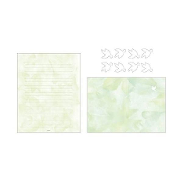 ミドリ レターセット 森色ノキモチ 86100006 ( 2 パック)/メール便送料無料