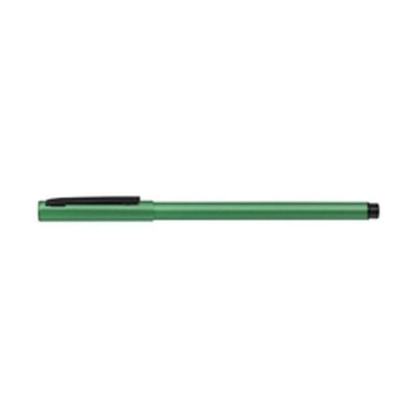 ゼブラ フォルティアem. エマルジョンボールペン 緑 BA98-G ( 3 本)/メール便送料無料