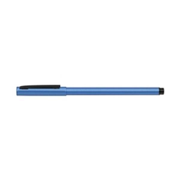 ゼブラ フォルティアem. エマルジョンボールペン ライトブルー BA98-LB ( 5 本)/メール便送料無料