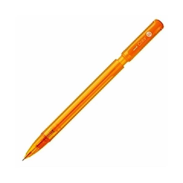 消しゴムで消せるカラー芯シャープ 替芯0.5mm オレンジ M5102C.4 ( 10 本 )/メール便送料無料