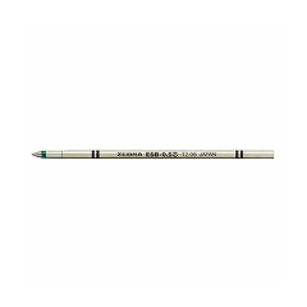 ゼブラ エマルジョンボールペン替芯 ESB-0.5 緑 RESB5-G 5本セット/メール便送料無料
