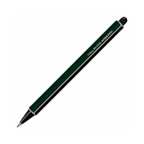 コクヨ 鉛筆シャープ 1.3 ダークグリーン PS-P101DG-1P ( 5本)/メール便送料無料