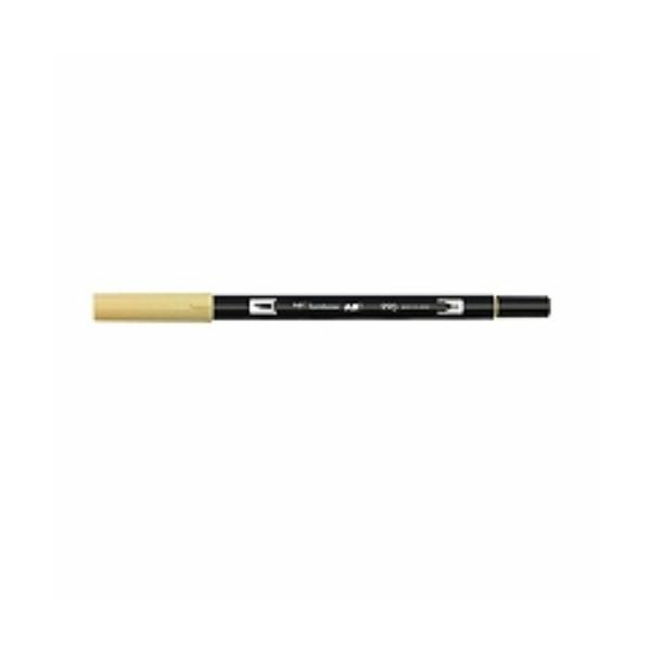 トンボ鉛筆 水性マ-カ- ブラッシュペン AB-T990 ( 2本)/メール便送料無料