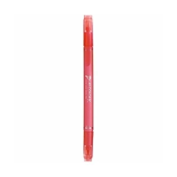 トンボ鉛筆 水性サインペン プレイカラーK ピーチピンク WS-PK61 ( 5本)/メール便送料無料