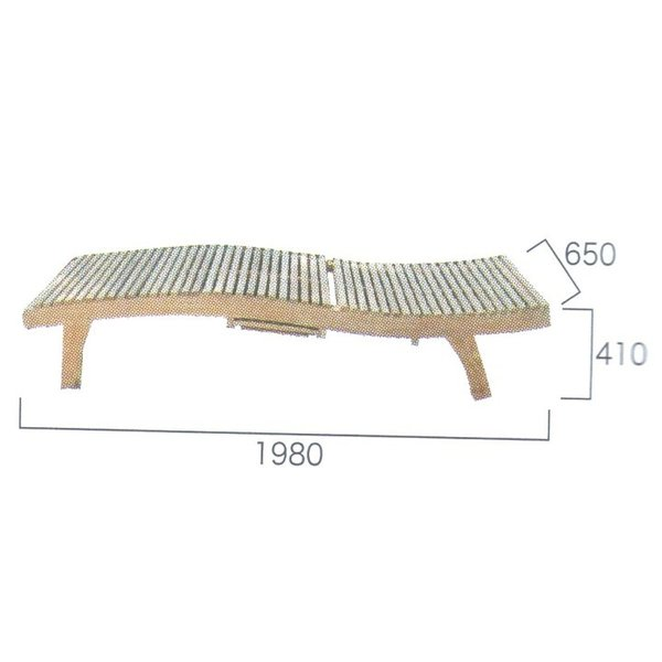 チーク ES ラウンジャー ガーデンチェア ガーデンファニチャー