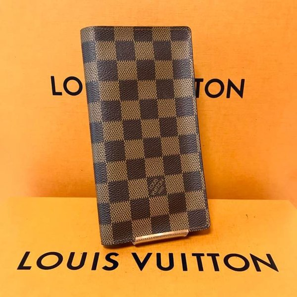 buy popular 48d81 8a0b5 美品 ルイヴィトン ダミエ 札入れ 長財布 LOUIS VUITTON ...