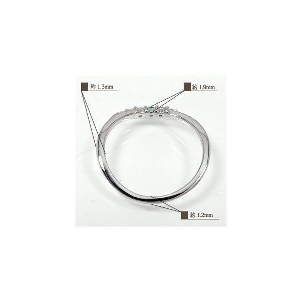 リング 誕生石リング ダイヤモンド プラチナ 指輪 シンプル リッチ ピンキーリング レディース