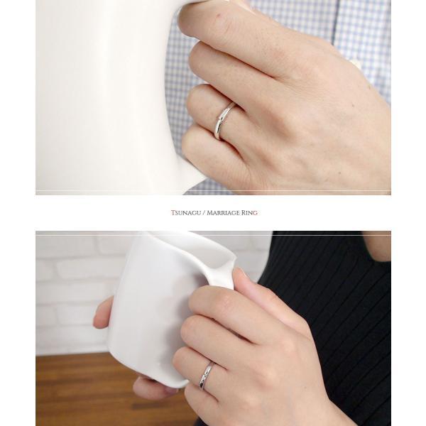 ダイヤモンド ペアリング マリッジリング 2本セット 18金 指輪 誕生石 結婚指輪 ホワイトゴールド ピンクゴールド レディース メンズ セット価格 ペアリング