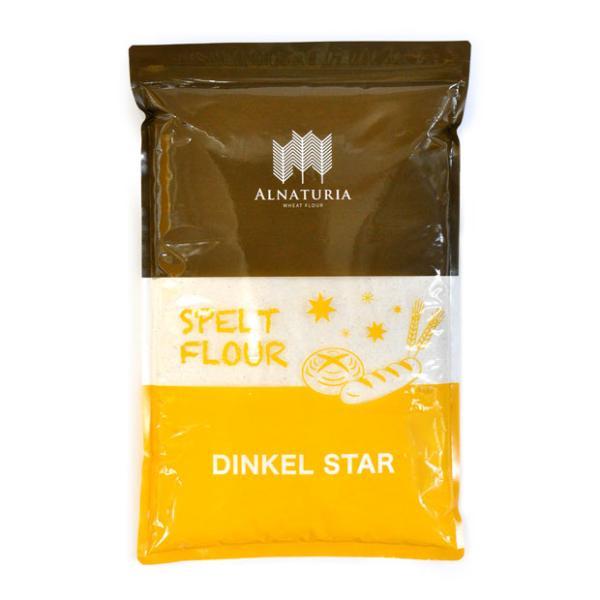 ディンケルスター (強力粉 石臼挽き全粒粉) 2kg【スペルト小麦】