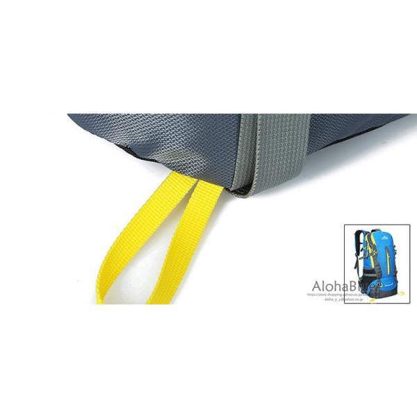 リュックサック メンズ レディース 登山リュック バックパック 大容量 防災リュック トレッキング 軽量 撥水 アウトドア 2020|aloha0118|16