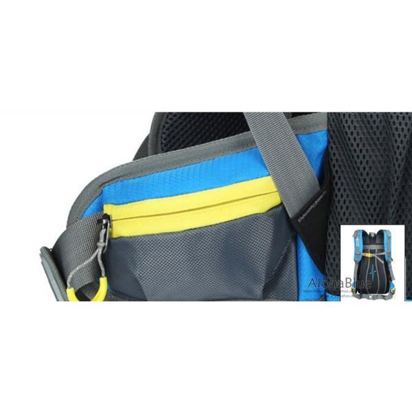 リュックサック メンズ レディース 登山リュック バックパック 大容量 防災リュック トレッキング 軽量 撥水 アウトドア 2020|aloha0118|19