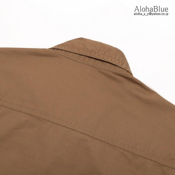 シャツ メンズ 軍服 ミリタリーシャツ ワークシャツ ミリタリーファッション カジュアルシャツ 長袖 トップス 綿 アウトドア 父の日|aloha0118|20