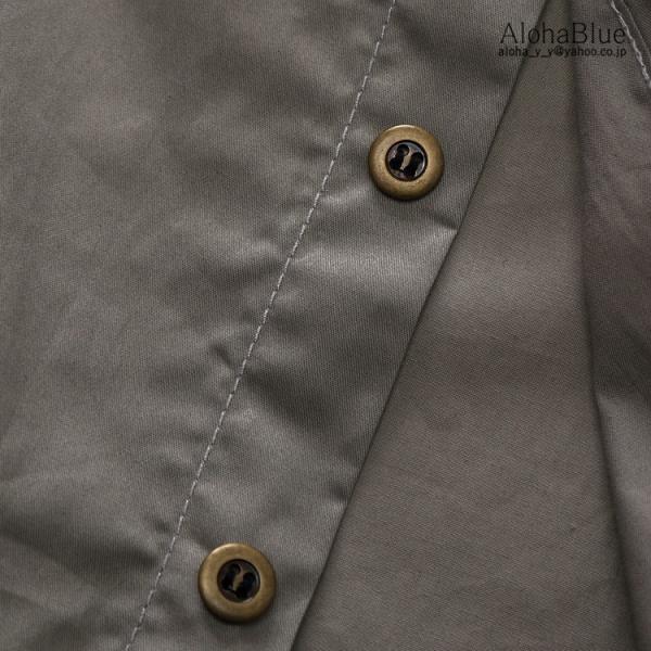 ミリタリーシャツ メンズ 半袖 シャツ カジュアルシャツ ワークシャツ アウトドア 登山 夏物 2019|aloha0118|17