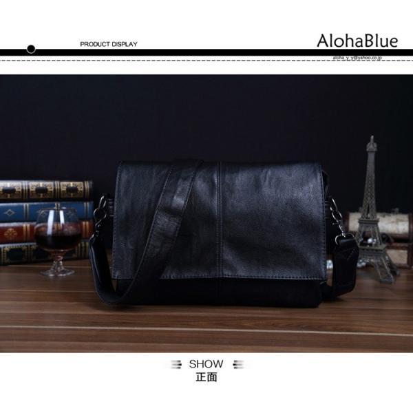 メッセンジャーバッグ メンズ ショルダーバッグ 大きめ A4 カバン バッグ 蓋付き ビジネスバッグ 斜めがけバッグ 通学 通勤 多収納 2019 新生活 aloha0118 15