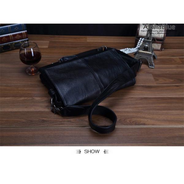 メッセンジャーバッグ メンズ ショルダーバッグ 大きめ A4 カバン バッグ 蓋付き ビジネスバッグ 斜めがけバッグ 通学 通勤 多収納 2019 新生活 aloha0118 19