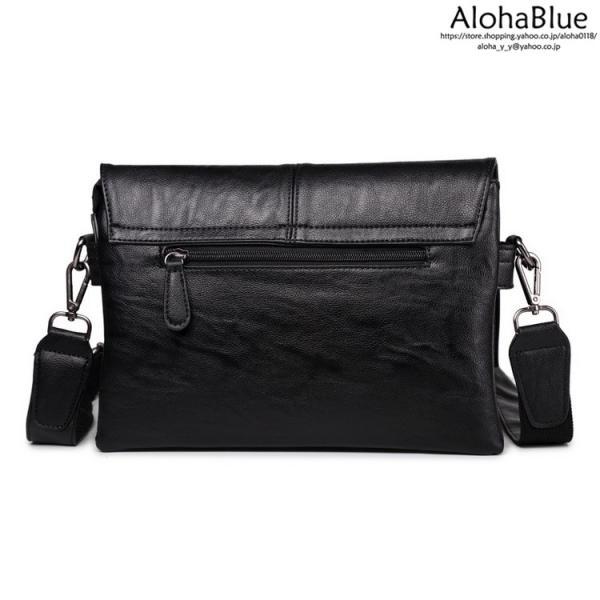 メッセンジャーバッグ メンズ ショルダーバッグ 大きめ A4 カバン バッグ 蓋付き ビジネスバッグ 斜めがけバッグ 通学 通勤 多収納 2019 新生活 aloha0118 06