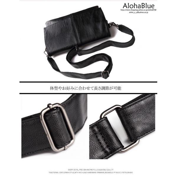 メッセンジャーバッグ メンズ ショルダーバッグ 大きめ A4 カバン バッグ 蓋付き ビジネスバッグ 斜めがけバッグ 通学 通勤 多収納 2019 新生活 aloha0118 08