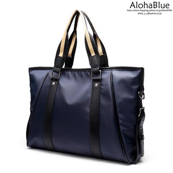 トートバッグ メンズ ビジネスバッグ かばん カバン 鞄 ナイロン 防水 撥水 A4 ショルダーバッグ 2WAY 通勤 通学 ビジネス 2019|aloha0118|13