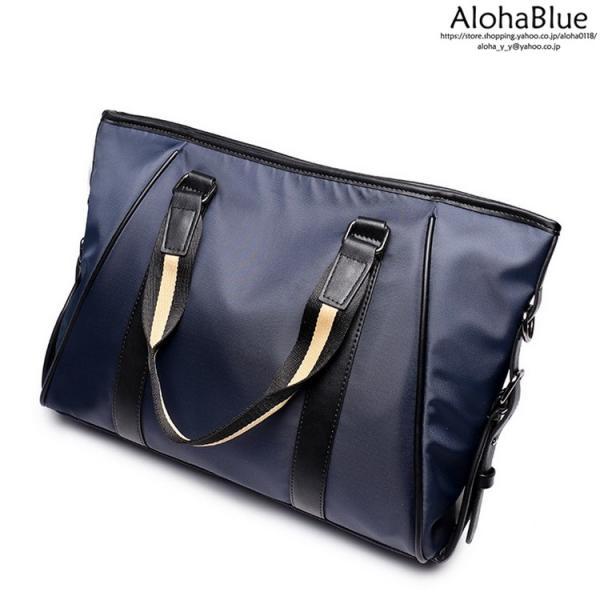 トートバッグ メンズ ビジネスバッグ かばん カバン 鞄 ナイロン 防水 撥水 A4 ショルダーバッグ 2WAY 通勤 通学 ビジネス 2019|aloha0118|14