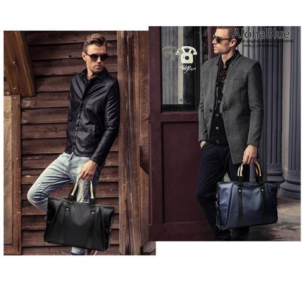 トートバッグ メンズ ビジネスバッグ かばん カバン 鞄 ナイロン 防水 撥水 A4 ショルダーバッグ 2WAY 通勤 通学 ビジネス 2019|aloha0118|19