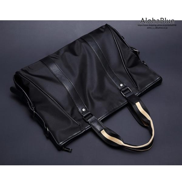 トートバッグ メンズ ビジネスバッグ かばん カバン 鞄 ナイロン 防水 撥水 A4 ショルダーバッグ 2WAY 通勤 通学 ビジネス 2019|aloha0118|10