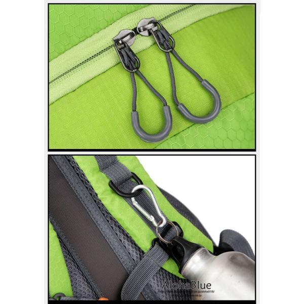 リュックサック メンズ リュック バックパック 登山バッグ 登山リュック 大容量 デイパック 旅行 アウトドア バッグ ハイキング 2020|aloha0118|12