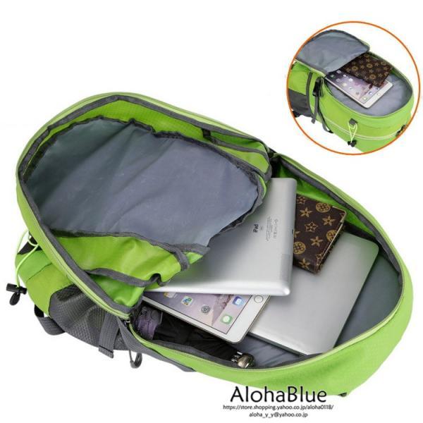 リュックサック メンズ リュック バックパック 登山バッグ 登山リュック 大容量 デイパック 旅行 アウトドア バッグ ハイキング 2020|aloha0118|04