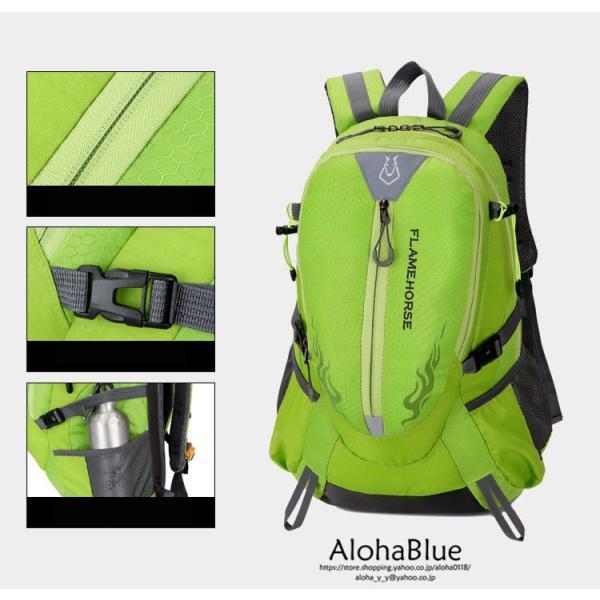 リュックサック メンズ リュック バックパック 登山バッグ 登山リュック 大容量 デイパック 旅行 アウトドア バッグ ハイキング 2020|aloha0118|08