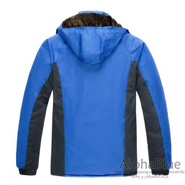 登山ウェア メンズ マウンテンジャケット アウトドア マウンテンパーカー ハイキングジャケット 防水 防寒着 2019|aloha0118|05