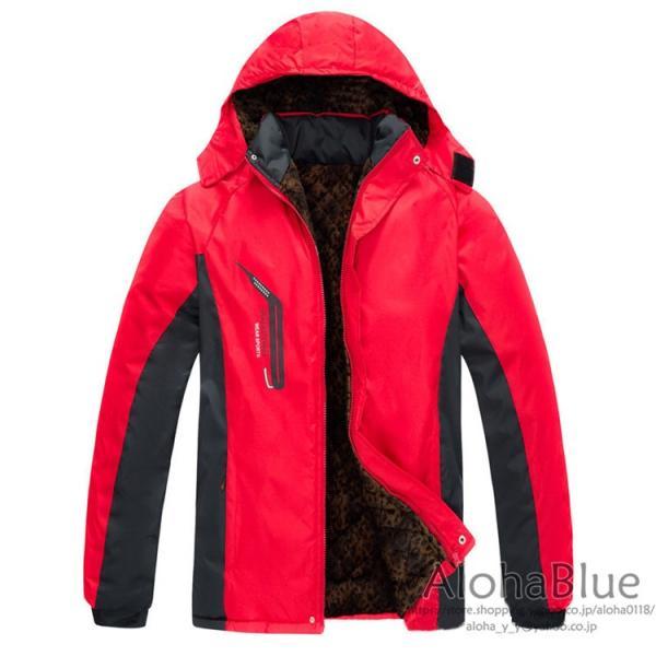 登山ウェア メンズ マウンテンジャケット アウトドア マウンテンパーカー ハイキングジャケット 防水 防寒着 2019|aloha0118|06