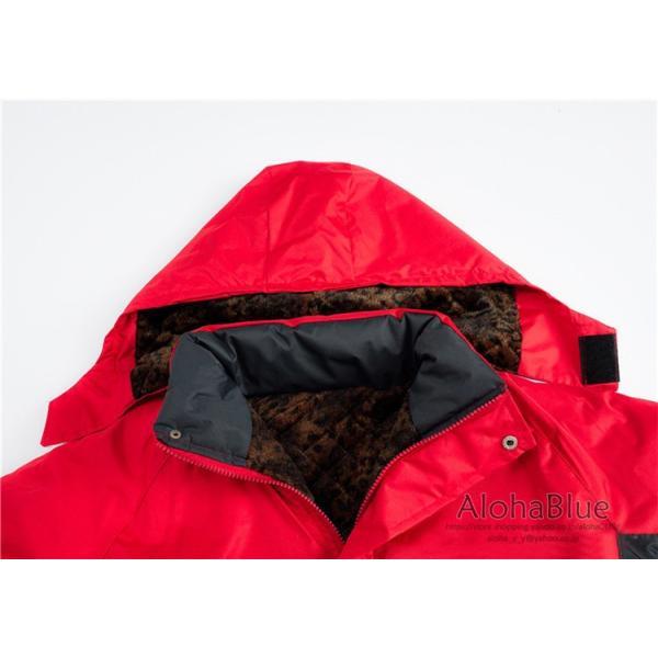 登山ウェア メンズ マウンテンジャケット アウトドア マウンテンパーカー ハイキングジャケット 防水 防寒着 2019|aloha0118|08