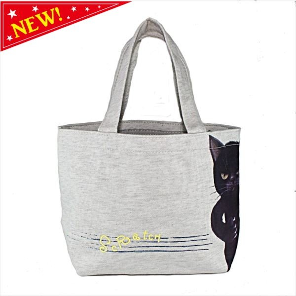 猫 グッズ スクラッチキャット スエットバッグ S (グレー) ネコ 雑貨 ねこ ネコ