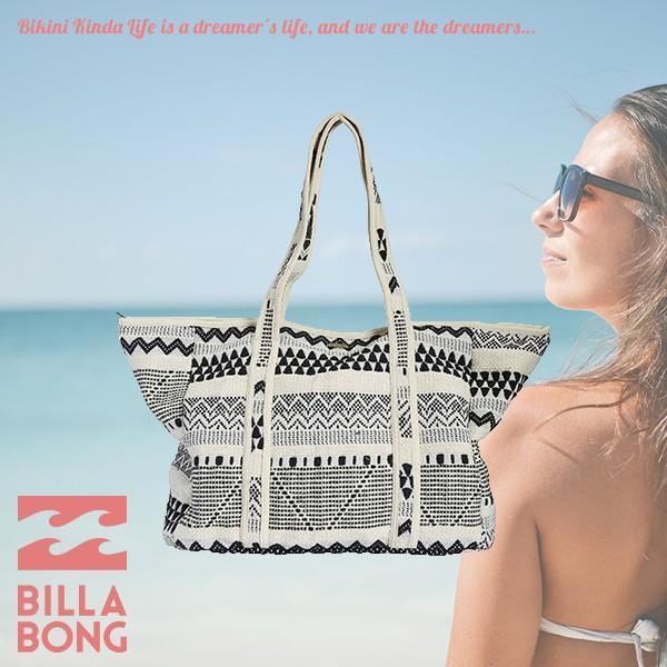 ビラボン トートバッグ 人気 ブランド 白 黒 レディース かわいい おしゃれ 夏 海 A4サイズ入ります 大容量 ギフトBILLABONG AH013-909|aloheart