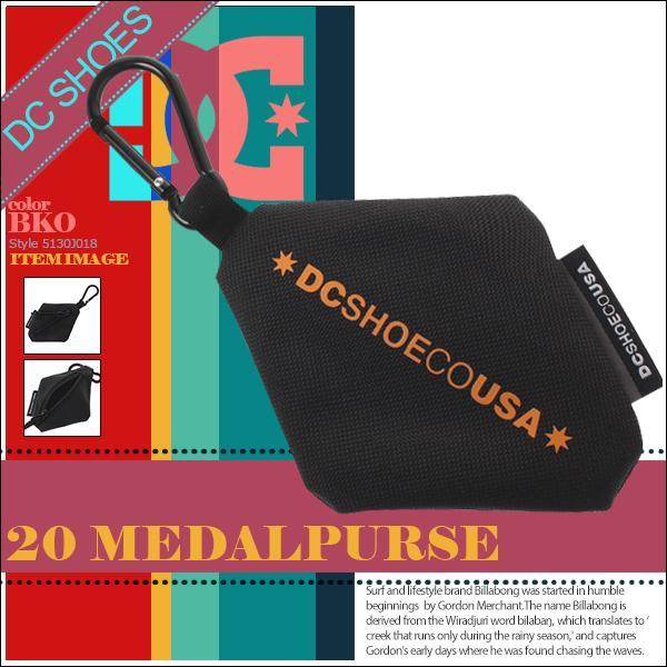ディーシー 財布 コインケース 小銭入れ ユニセックス 20 MEDALPURSE DC SHOE 5130J018