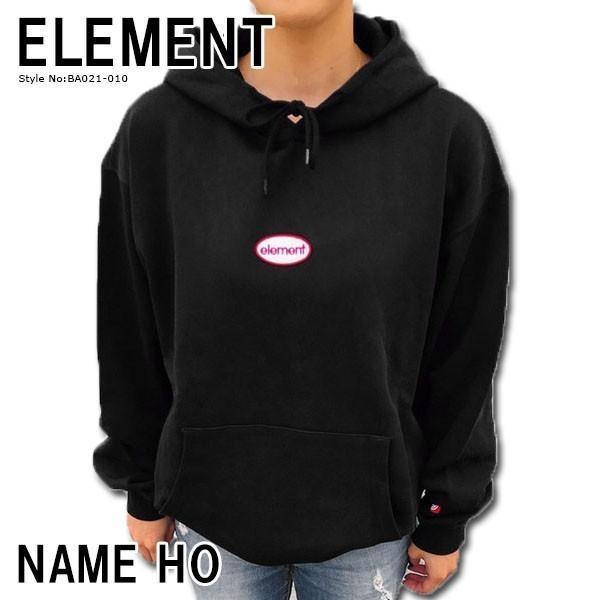 エレメント パーカー メンズ NAME HO ELEMENT BA021-010
