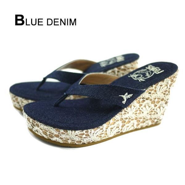 厚底サンダル  レディース 女子 美脚 歩きやすい 人気ブランド 選べる 2カラー 夏 海 リゾート 黒 ブルー  FLOJOS フロホース  561HUMMINGBIRD